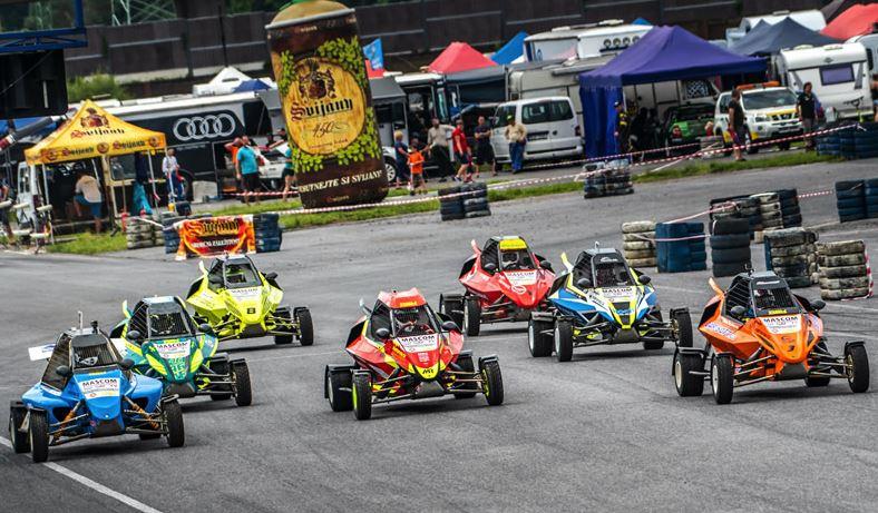 Mascom CUP - Kartcross strart 2020